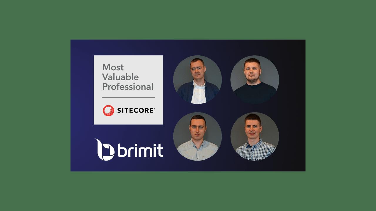 Four Brimit Team Members Named 2020 Sitecore MVPs