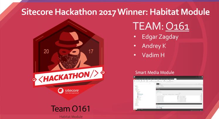 sitecore hackathon winner