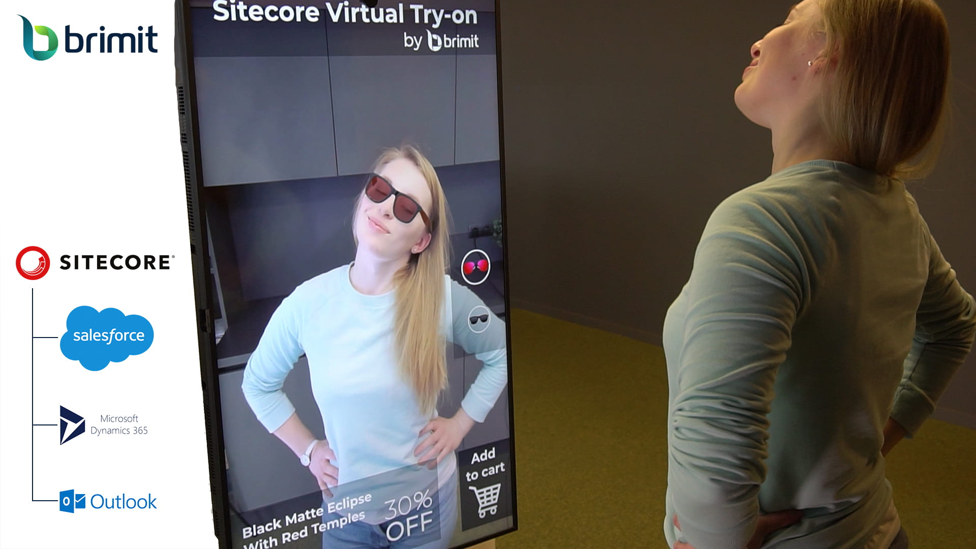 Sitecore and augmented reality: connecting the offline and online customer experience with a virtual try-on