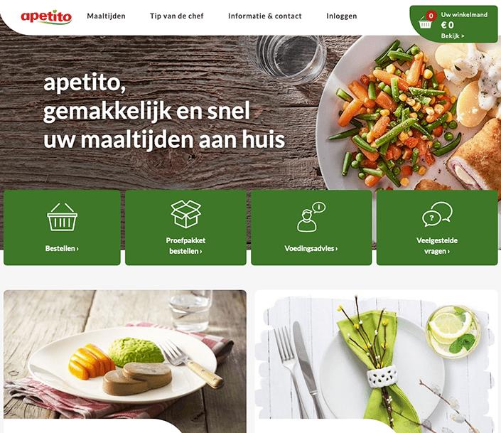 apetito home page