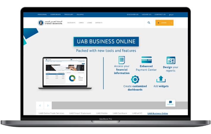 UAB screenshot