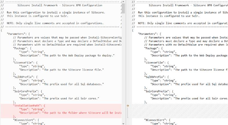 add parameter sitecore 9