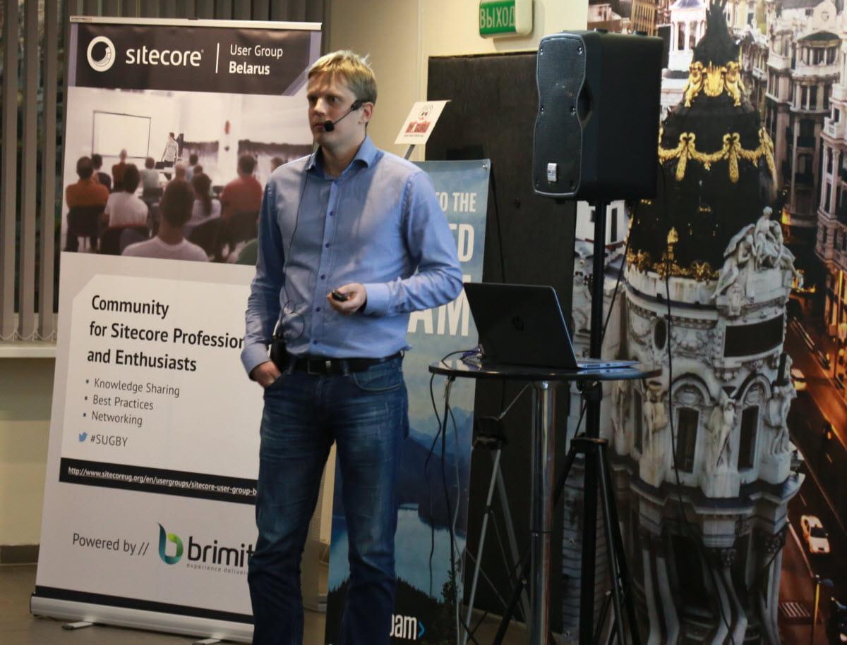 meetup speaker Dzmitry