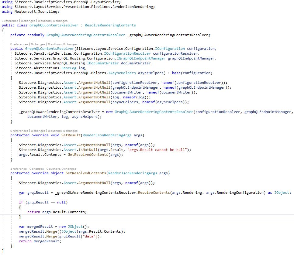 GraphQL Contents Resolver
