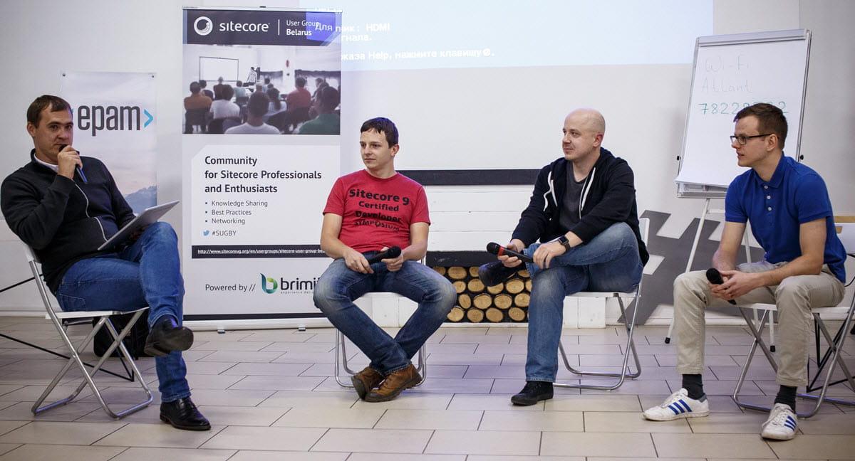 Sitecore UG 7 meetup panel