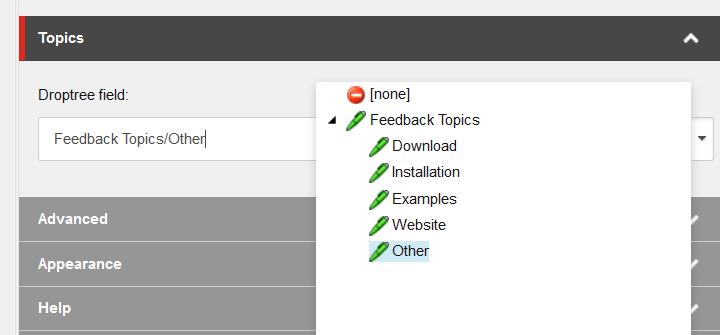 Sitecore UX improve references