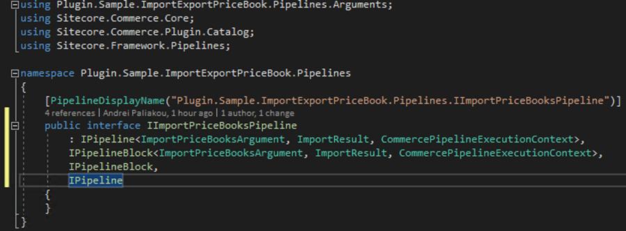 Sitecore Commerce 9: Import Price Books