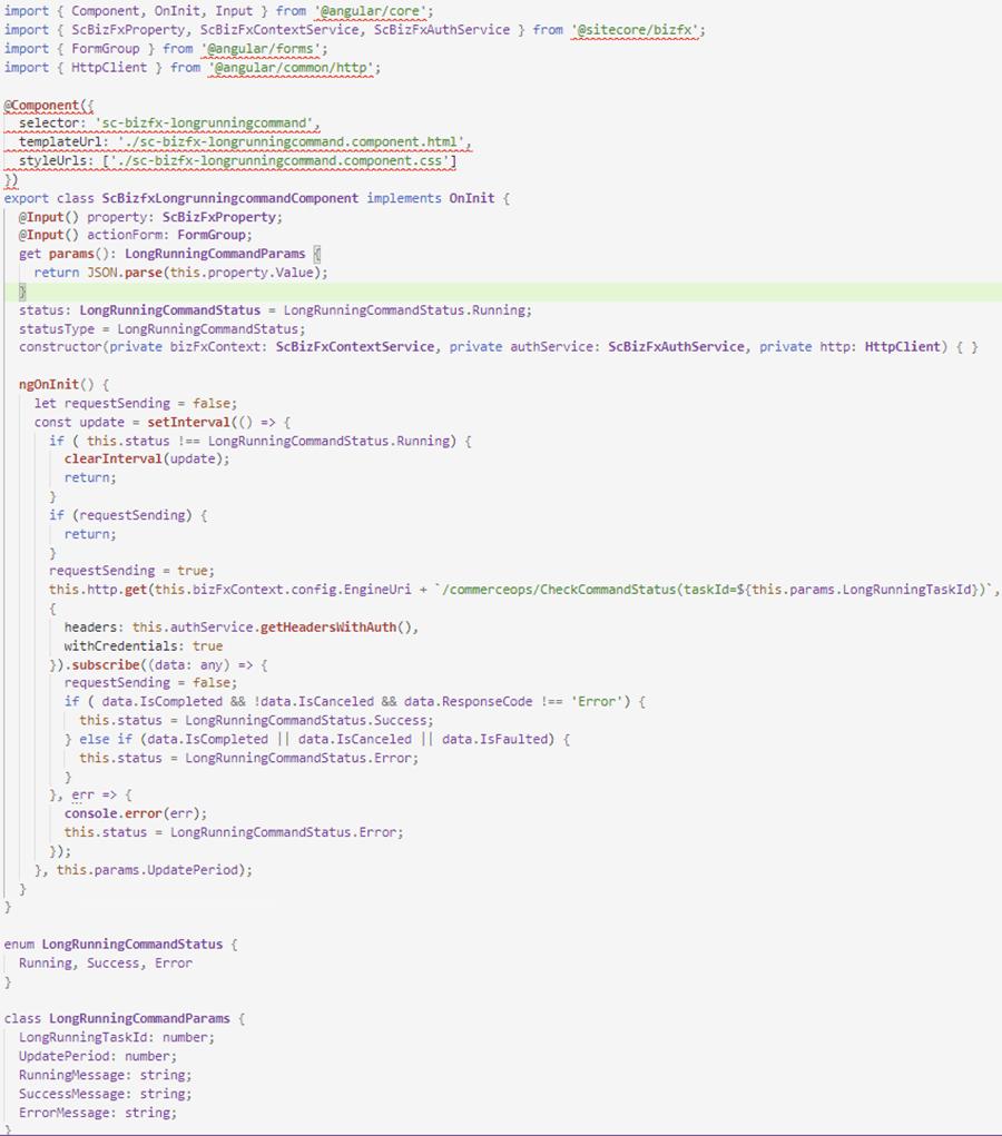 Sitecore Commerce 9: Extend BizFx Part 2