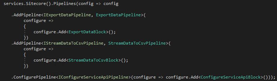 Sitecore Commerce 9: Export csv